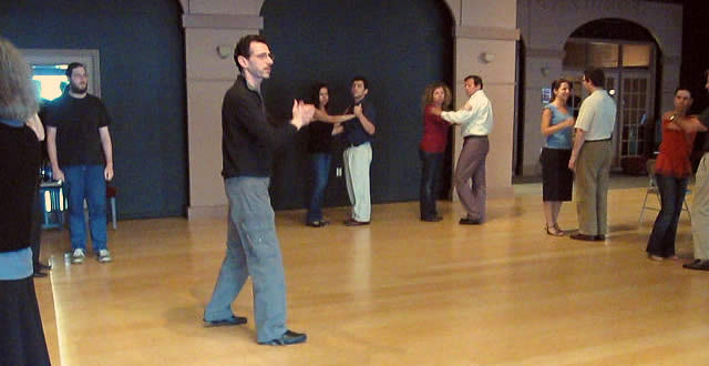 Tango Bohemia Class in Atlanta with Ilya