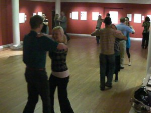 First Class at OUMA, Practice Tango Hold