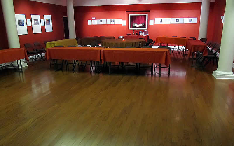Plenty of a great new floor available for Tango dancers here