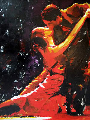 Tango Art by David Wendel