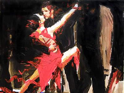 "David Wendel, ""Shall We Dance"" Series, Tango"